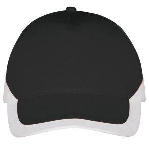 Booster cap zwart-wit