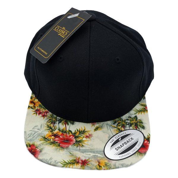 Bloemetjes snapback cap