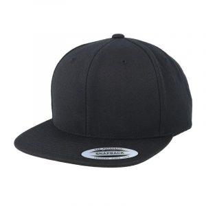 Klassieke Snapback cap zwart-groen