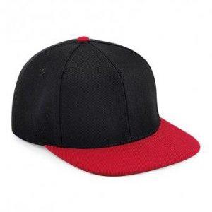 Original snapback cap zwart-rood