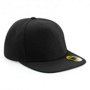 Original snapback cap zwart-zwart