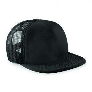 Trucker Snapback cap zwart