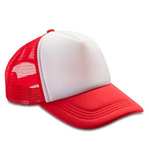 Trucker cap rood-wit