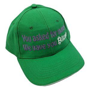 Ask money give Bitcoin cap