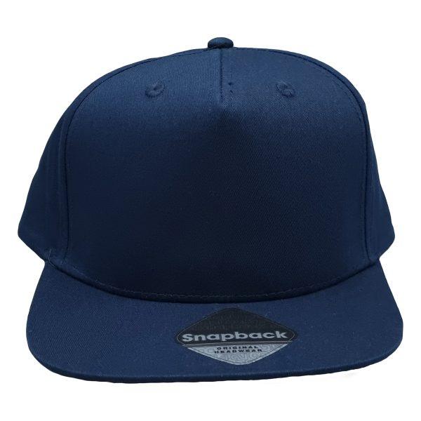 Rapper snapback cap navy