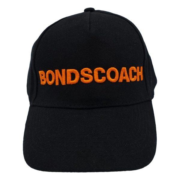 bondscoach-pet-zwart-oranje
