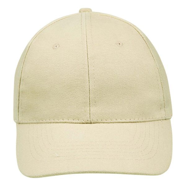 Cap beige 6panel
