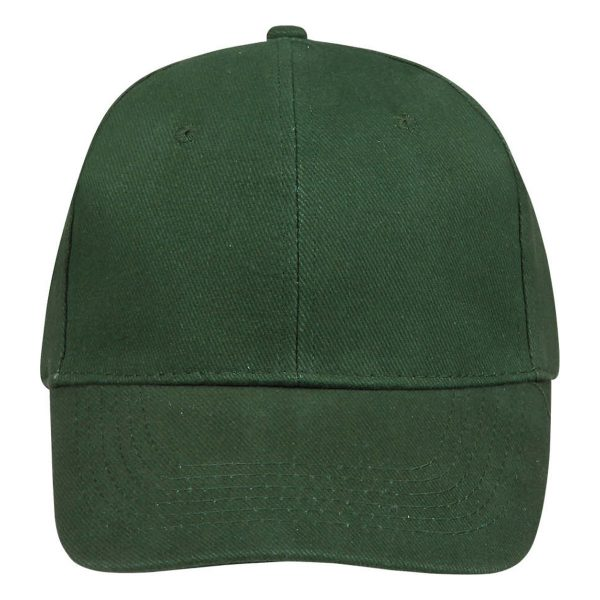 Cap bottlegreen 6panel