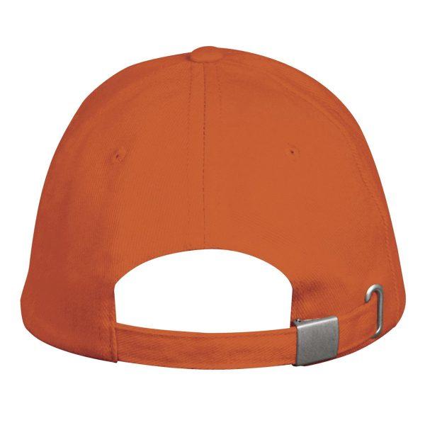 Pet oranje 5panel gesp