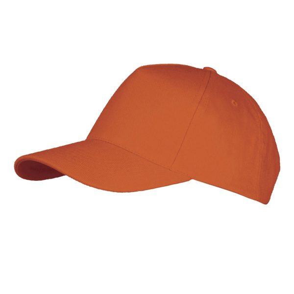 Pet oranje 5panel links