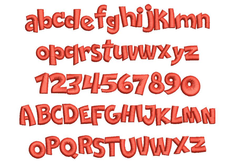3D Comica font