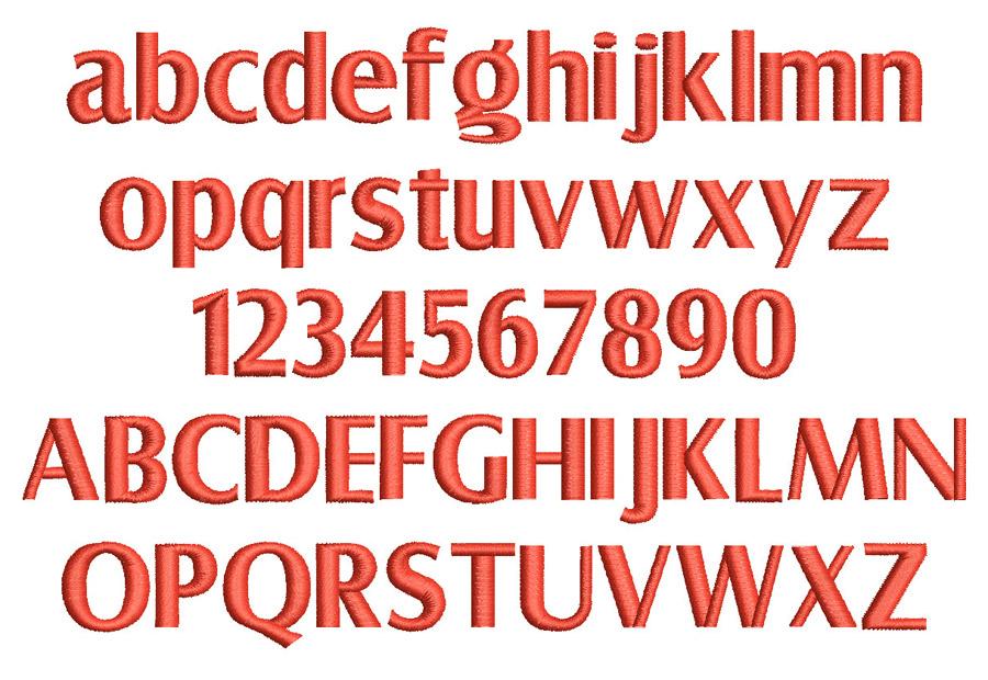 3D London font