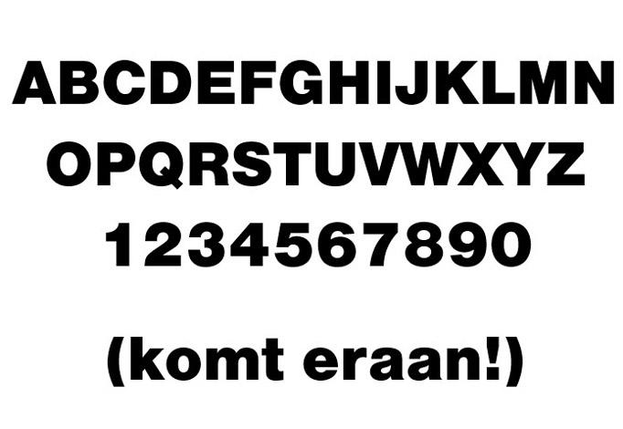3D Nimbus font